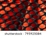 fabric texture background. | Shutterstock . vector #795925084