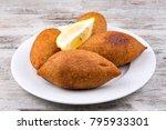 turkish foods  icli kofte | Shutterstock . vector #795933301