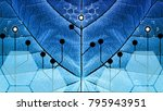 biomimicry   nature and... | Shutterstock . vector #795943951
