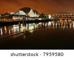 tyne bridge and the sage... | Shutterstock . vector #7959580