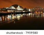 tyne bridge and the sage... | Shutterstock . vector #7959580