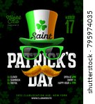 saint patrick's day  feast of... | Shutterstock .eps vector #795974035