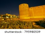 the leaning brick tower of...   Shutterstock . vector #795980539