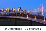 the louisville  kentucky... | Shutterstock . vector #795984061