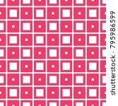 fabric print. geometric pattern ...   Shutterstock . vector #795986599