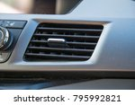 car vent air conditioning...   Shutterstock . vector #795992821