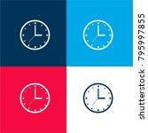 circular clock tool four color...