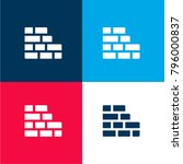 brickwall four color material...