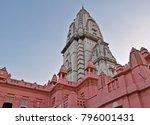 kashi vishwanath temple  ...   Shutterstock . vector #796001431