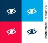 blind symbol of an opened eye...