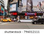 new york  usa   sep 16  2017 ... | Shutterstock . vector #796012111
