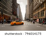 new york  usa   sep 16  2017 ... | Shutterstock . vector #796014175