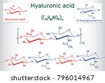 hyaluronic acid  ha ... | Shutterstock .eps vector #796014967