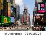 new york  usa   sep 16  2017 ... | Shutterstock . vector #796015129