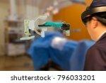 smart medical technology robot... | Shutterstock . vector #796033201