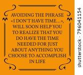 motivational quote. on orange... | Shutterstock .eps vector #796041154