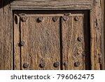 wood door background texture...   Shutterstock . vector #796062475