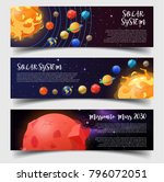 set of isolated banners for... | Shutterstock .eps vector #796072051
