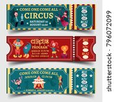 set of isolated tickets for... | Shutterstock .eps vector #796072099