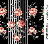 flowers pattern..for textile ...   Shutterstock . vector #796079719