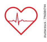 red medic blood pressure vector ... | Shutterstock .eps vector #796084744