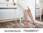 sexy woman legs close up in... | Shutterstock . vector #796088947