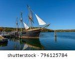 the joseph conrad at mystic...   Shutterstock . vector #796125784