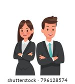 business people character... | Shutterstock .eps vector #796128574
