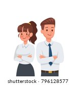 business people character... | Shutterstock .eps vector #796128577