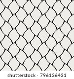 abstract tiles seamless vector... | Shutterstock .eps vector #796136431