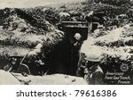 americans front line trench  ...   Shutterstock . vector #79616386