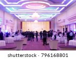 blurred soft of people in... | Shutterstock . vector #796168801
