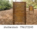 Small photo of Boy scout laws on wooden sign