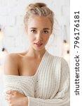 studio portrait of young... | Shutterstock . vector #796176181