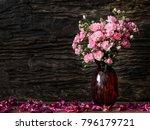 Still Life Visual Art Of Pink...