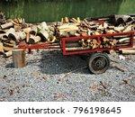 harvesting and transportation... | Shutterstock . vector #796198645