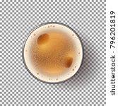 beer glass isolated on... | Shutterstock .eps vector #796201819