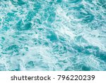 ocean waves  background  texture | Shutterstock . vector #796220239
