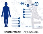2d illustration human male... | Shutterstock . vector #796228801