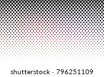 dark pink  red vector pattern... | Shutterstock .eps vector #796251109