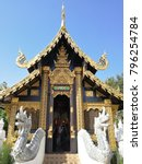Thai Temple In Chiang Mai  Wat...