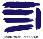 collection of hand drawn dark... | Shutterstock .eps vector #796270135