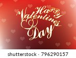 poster happy valentines day | Shutterstock .eps vector #796290157
