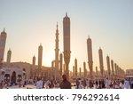 madinah  saudi arabia  ... | Shutterstock . vector #796292614