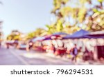 abstract blurred image of... | Shutterstock . vector #796294531