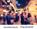 abstract blur image of street... | Shutterstock . vector #796294549
