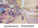 abstract blur people in outdoor ... | Shutterstock . vector #796294855