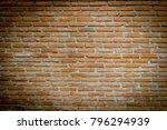 close up  background of bricks... | Shutterstock . vector #796294939
