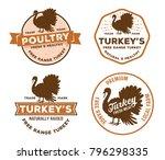 vector vintage badge label logo ... | Shutterstock .eps vector #796298335