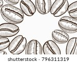 vector illustration frame with... | Shutterstock .eps vector #796311319